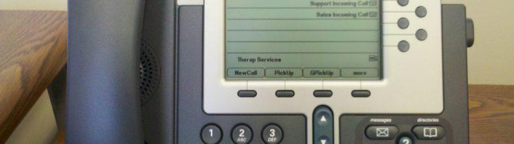 Teléfono VoIP Cisco