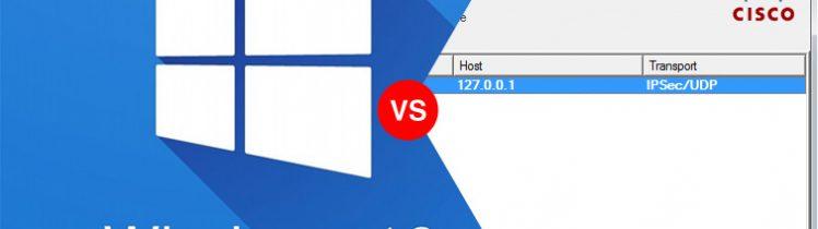 Cisco VPN Client Windows 10