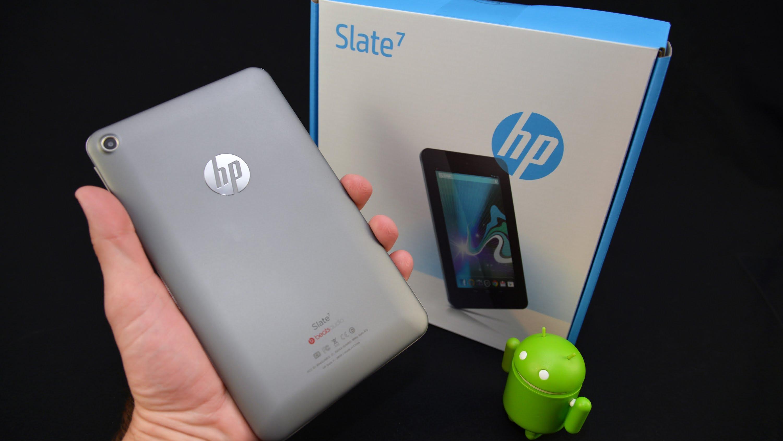 Slate 7 de HP software