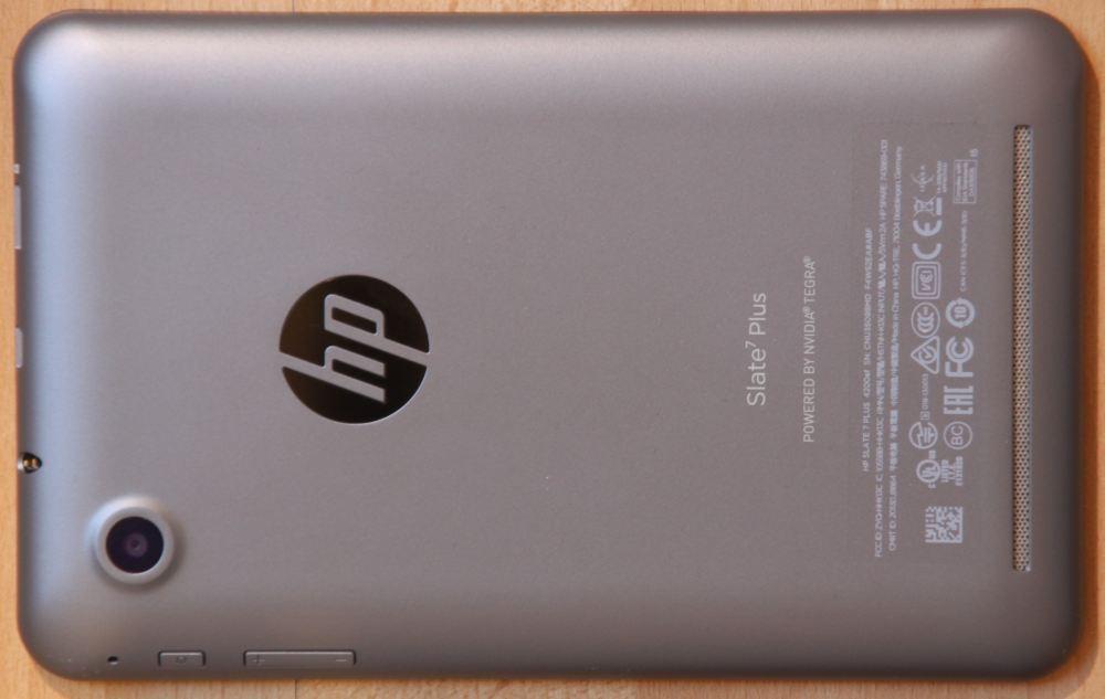 Slate 7 de HP hardware